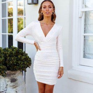 High Profile Dress Ivory